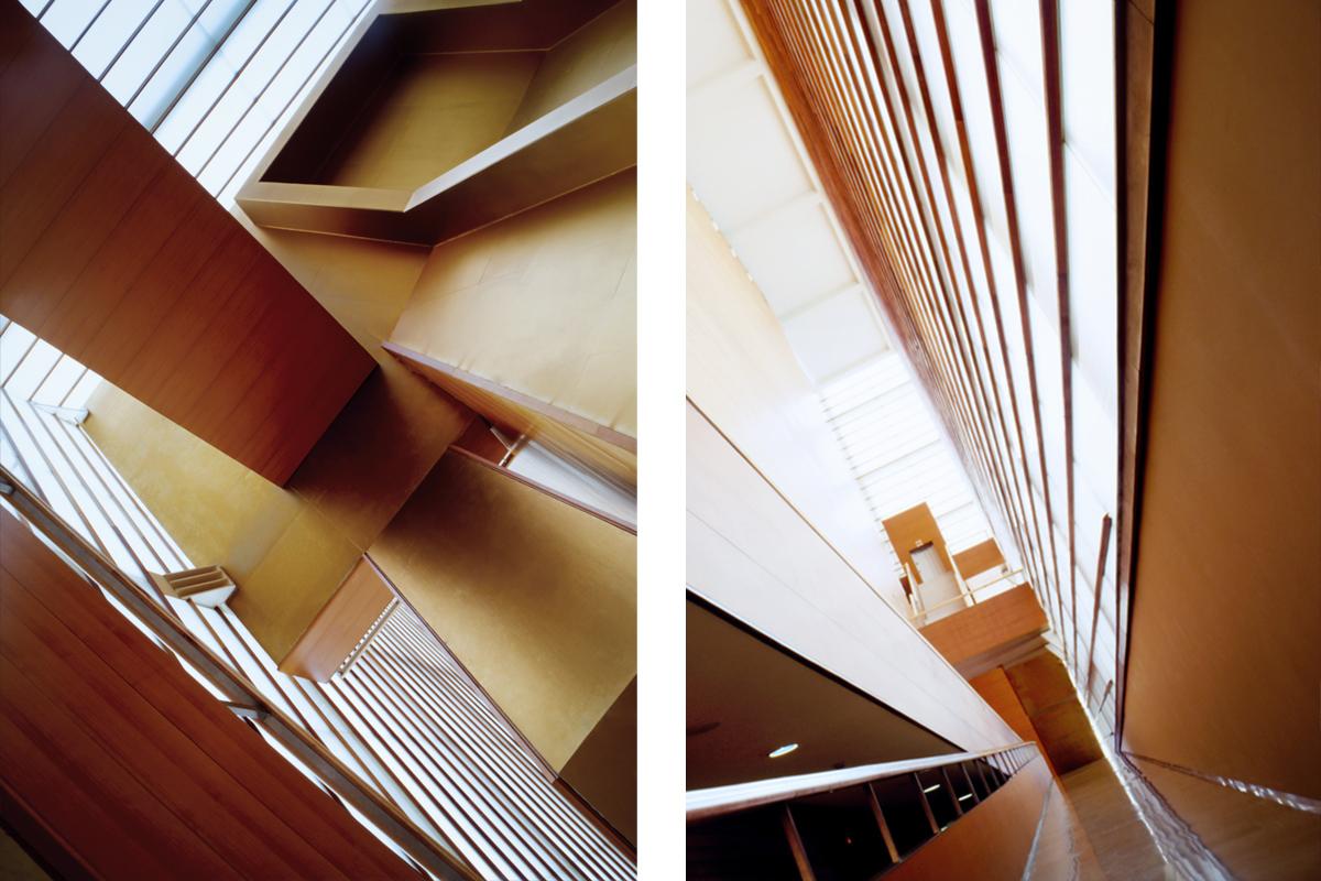 Fotografia de arquitectura Kubos de Moneo por Ainhoa Anaut