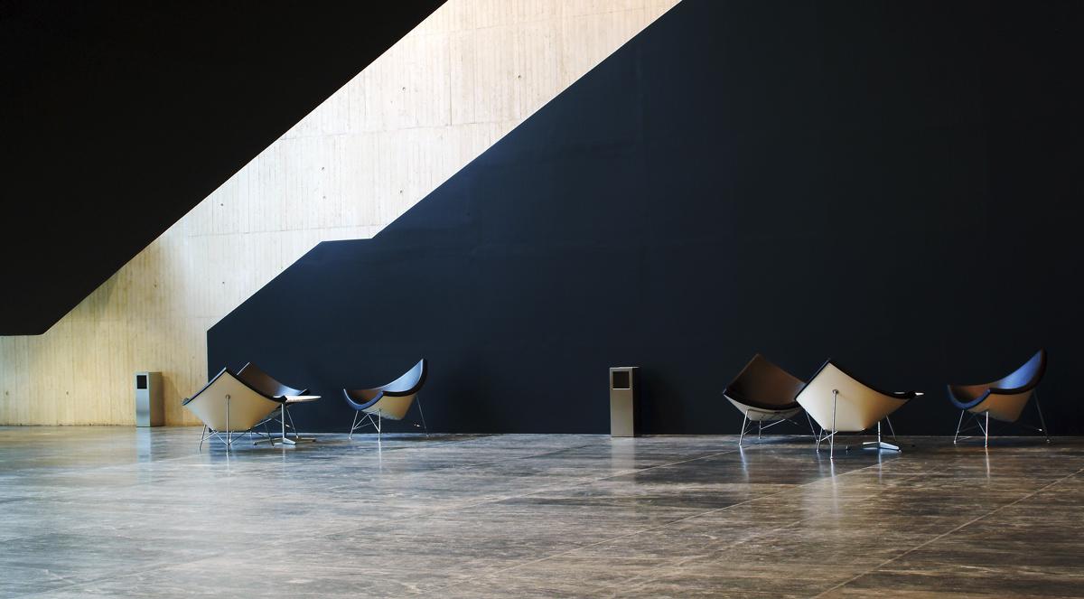 Fotografia de arquitectura auditorio de Peñiscola por Ainhoa Anaut