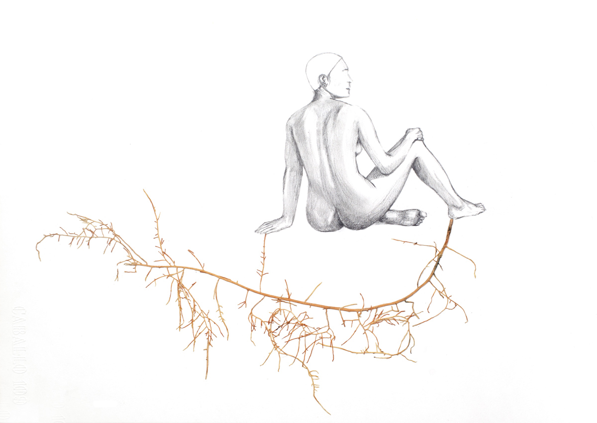 Fotografía de Ainhoa Anaut reproducción de arte, escultura...de Verónica Fabregat