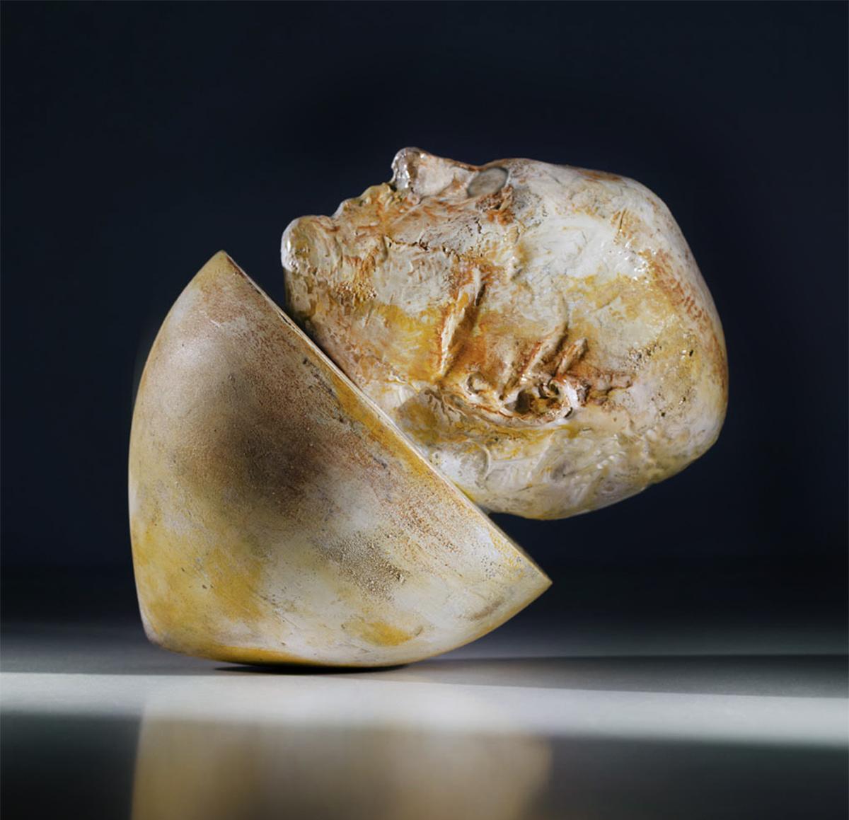 Fotografía de ainhoa anaut reproducción de arte, escultura de damian diaz